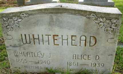 WHITEHEAD, WHEATLEY J. - Livingston County, Louisiana | WHEATLEY J. WHITEHEAD - Louisiana Gravestone Photos
