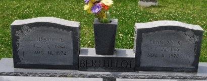 BERTHELOT, FRANCES - Livingston County, Louisiana   FRANCES BERTHELOT - Louisiana Gravestone Photos