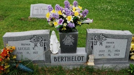 BERTHELOT, ROY JOSEPH - Livingston County, Louisiana | ROY JOSEPH BERTHELOT - Louisiana Gravestone Photos