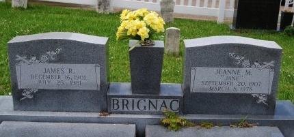 BRIGNAC, JEANNE - Livingston County, Louisiana | JEANNE BRIGNAC - Louisiana Gravestone Photos