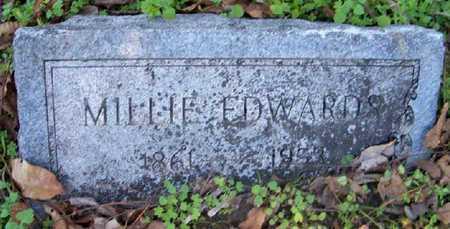 EDWARDS, MILLIE - Madison County, Louisiana | MILLIE EDWARDS - Louisiana Gravestone Photos