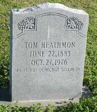 HEATHMON, TOM - Madison County, Louisiana | TOM HEATHMON - Louisiana Gravestone Photos