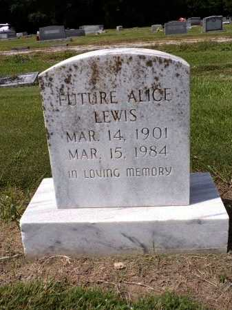 LEWIS, FUTURE ALICE - Madison County, Louisiana | FUTURE ALICE LEWIS - Louisiana Gravestone Photos