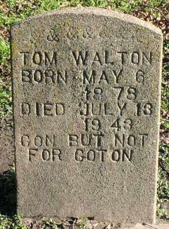 WALTON, TOM - Madison County, Louisiana   TOM WALTON - Louisiana Gravestone Photos