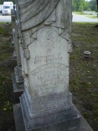 ANDREWS, W C - Morehouse County, Louisiana | W C ANDREWS - Louisiana Gravestone Photos