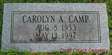 CAMP, CAROLYN A - Morehouse County, Louisiana   CAROLYN A CAMP - Louisiana Gravestone Photos