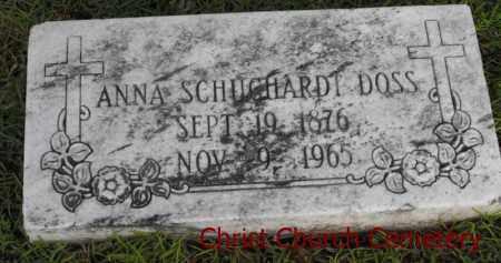 DOSS, ANNA - Morehouse County, Louisiana | ANNA DOSS - Louisiana Gravestone Photos