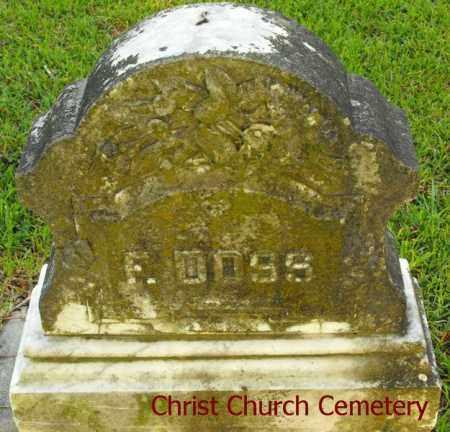 DOSS, F - Morehouse County, Louisiana | F DOSS - Louisiana Gravestone Photos