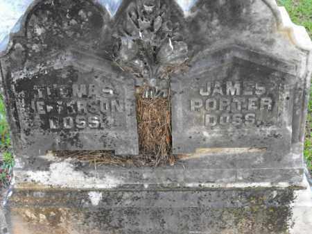 DOSS, JAMES PORTER - Morehouse County, Louisiana | JAMES PORTER DOSS - Louisiana Gravestone Photos
