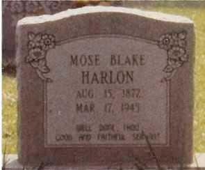 HARLON, MOSE BLAKE - Morehouse County, Louisiana | MOSE BLAKE HARLON - Louisiana Gravestone Photos