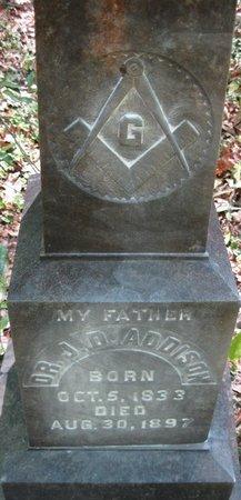 ADDISON, J D, DR - Natchitoches County, Louisiana | J D, DR ADDISON - Louisiana Gravestone Photos