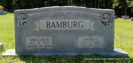 BAMBURG, OMA LOU - Natchitoches County, Louisiana | OMA LOU BAMBURG - Louisiana Gravestone Photos