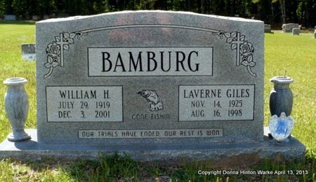 BAMBURG, LAVERNE - Natchitoches County, Louisiana | LAVERNE BAMBURG - Louisiana Gravestone Photos