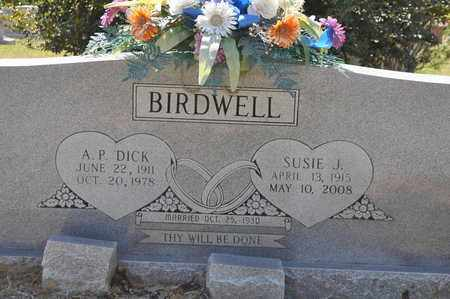 BIRDWELL, A P DICK - Natchitoches County, Louisiana | A P DICK BIRDWELL - Louisiana Gravestone Photos