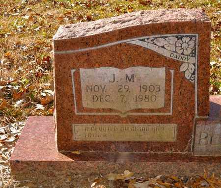 BLACKWELL, J M - Natchitoches County, Louisiana | J M BLACKWELL - Louisiana Gravestone Photos