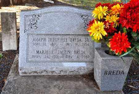 TAUZIN BREDA, MARZELIE - Natchitoches County, Louisiana | MARZELIE TAUZIN BREDA - Louisiana Gravestone Photos