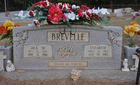 BREVELLE, JACK, SR - Natchitoches County, Louisiana | JACK, SR BREVELLE - Louisiana Gravestone Photos