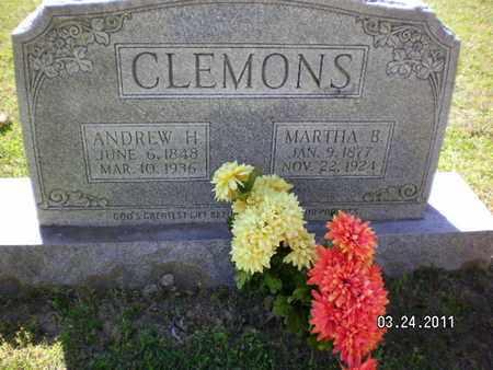 BOYT CLEMONS, MARTHA ELIZABETH - Natchitoches County, Louisiana | MARTHA ELIZABETH BOYT CLEMONS - Louisiana Gravestone Photos