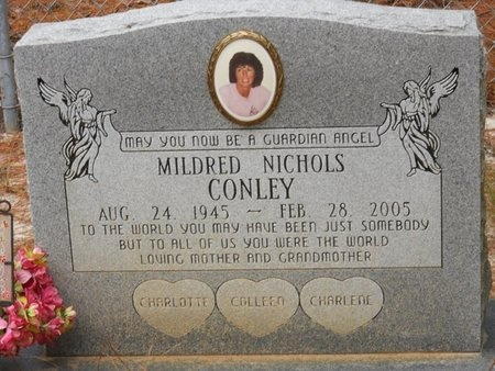 NICHOLS CONLEY, MILDRED - Natchitoches County, Louisiana | MILDRED NICHOLS CONLEY - Louisiana Gravestone Photos