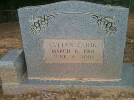 COOK, EVELYN - Natchitoches County, Louisiana   EVELYN COOK - Louisiana Gravestone Photos