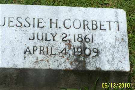 CORBETT, JESSIE - Natchitoches County, Louisiana | JESSIE CORBETT - Louisiana Gravestone Photos