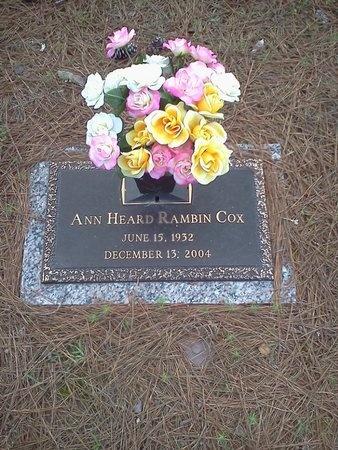 COX, ANN HEARD - Natchitoches County, Louisiana | ANN HEARD COX - Louisiana Gravestone Photos