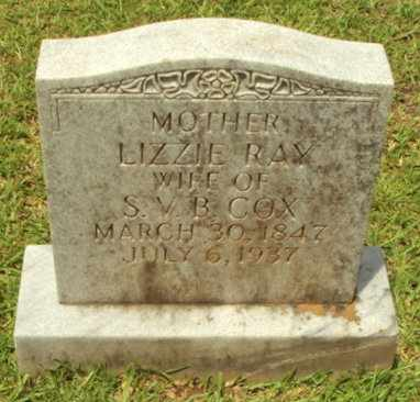 COX, LIZZIE - Natchitoches County, Louisiana | LIZZIE COX - Louisiana Gravestone Photos