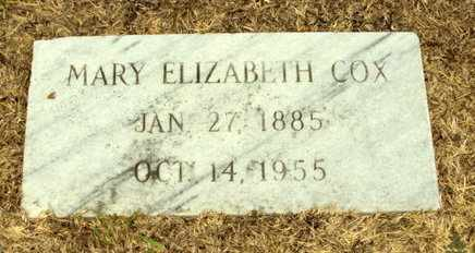 COX, MARY ELIZABETH - Natchitoches County, Louisiana   MARY ELIZABETH COX - Louisiana Gravestone Photos