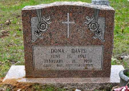 DAVIS, DONA - Natchitoches County, Louisiana | DONA DAVIS - Louisiana Gravestone Photos