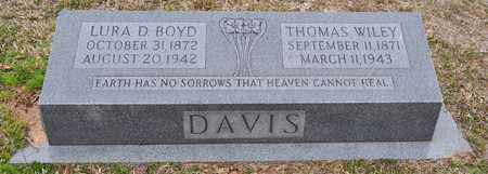 DAVIS, THOMAS WILEY - Natchitoches County, Louisiana | THOMAS WILEY DAVIS - Louisiana Gravestone Photos