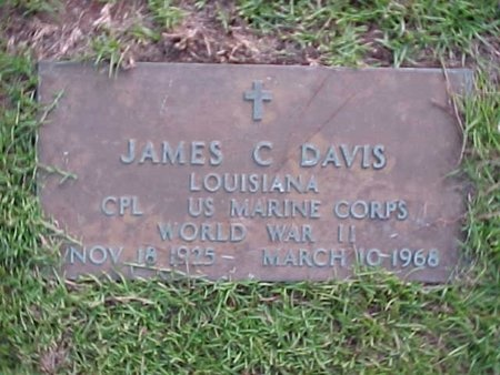 DAVIS, JAMES C (VETERAN WWII) - Natchitoches County, Louisiana | JAMES C (VETERAN WWII) DAVIS - Louisiana Gravestone Photos