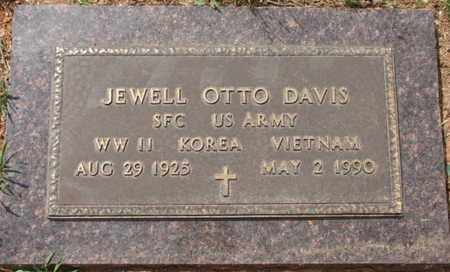 DAVIS, JEWELL OTTO (VETERAN 3 WARS) - Natchitoches County, Louisiana | JEWELL OTTO (VETERAN 3 WARS) DAVIS - Louisiana Gravestone Photos