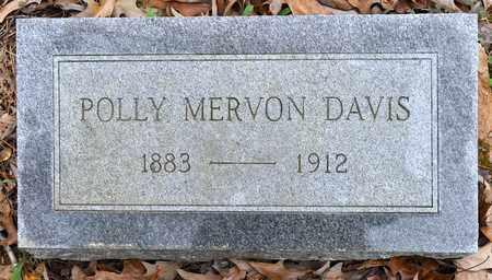 DAVIS, POLLY MERVON - Natchitoches County, Louisiana   POLLY MERVON DAVIS - Louisiana Gravestone Photos