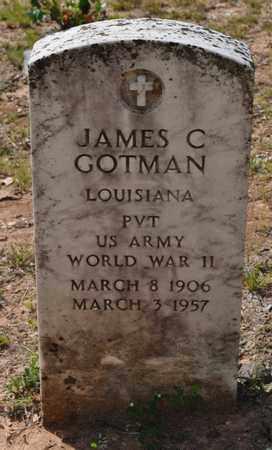 GOTMAN, JAMES C (VETERAN WWII) - Natchitoches County, Louisiana   JAMES C (VETERAN WWII) GOTMAN - Louisiana Gravestone Photos