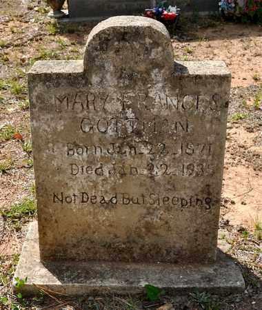 GOTTMAN, MARY FRANCES - Natchitoches County, Louisiana   MARY FRANCES GOTTMAN - Louisiana Gravestone Photos