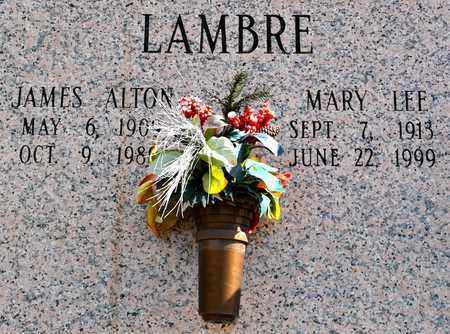 LAMBRE, JAMES ALTON - Natchitoches County, Louisiana | JAMES ALTON LAMBRE - Louisiana Gravestone Photos