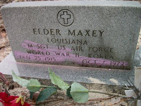 MAXEY, ELDER  (VETERAN 2 WARS) - Natchitoches County, Louisiana | ELDER  (VETERAN 2 WARS) MAXEY - Louisiana Gravestone Photos