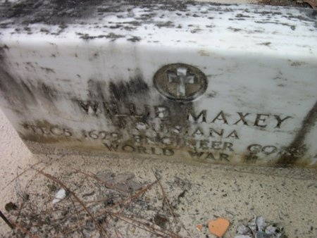 MAXEY, WILLIE  (VETERAN WWII) - Natchitoches County, Louisiana | WILLIE  (VETERAN WWII) MAXEY - Louisiana Gravestone Photos