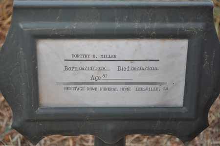 MILLER, DOROTHY - Natchitoches County, Louisiana | DOROTHY MILLER - Louisiana Gravestone Photos