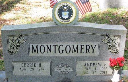 MONTGOMERY, ANDREW ELTON - Natchitoches County, Louisiana | ANDREW ELTON MONTGOMERY - Louisiana Gravestone Photos