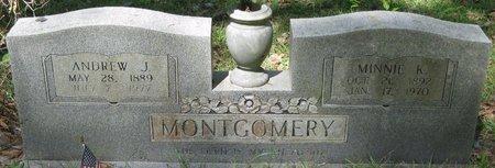 MONTGOMERY, MINNIE K - Natchitoches County, Louisiana | MINNIE K MONTGOMERY - Louisiana Gravestone Photos