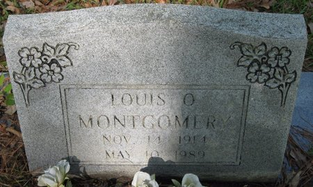 MONTGOMERY, LOUIS O - Natchitoches County, Louisiana | LOUIS O MONTGOMERY - Louisiana Gravestone Photos