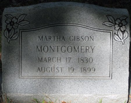 GIBSON MONTGOMERY, MARTHA - Natchitoches County, Louisiana | MARTHA GIBSON MONTGOMERY - Louisiana Gravestone Photos
