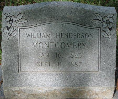 MONTGOMERY, WILLIAM HENDERSON - Natchitoches County, Louisiana | WILLIAM HENDERSON MONTGOMERY - Louisiana Gravestone Photos