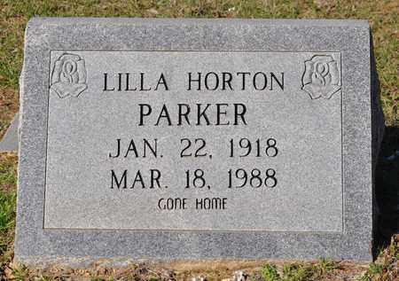 PARKER, LILLA - Natchitoches County, Louisiana | LILLA PARKER - Louisiana Gravestone Photos