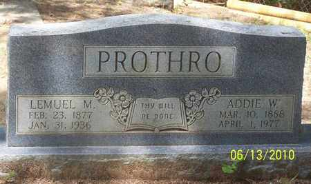 PROTHRO, LEMUEL MATHIES - Natchitoches County, Louisiana | LEMUEL MATHIES PROTHRO - Louisiana Gravestone Photos