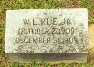 RUE, W L, JR - Natchitoches County, Louisiana | W L, JR RUE - Louisiana Gravestone Photos