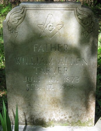 TARVER, WILLIAM ALLEN - Natchitoches County, Louisiana | WILLIAM ALLEN TARVER - Louisiana Gravestone Photos
