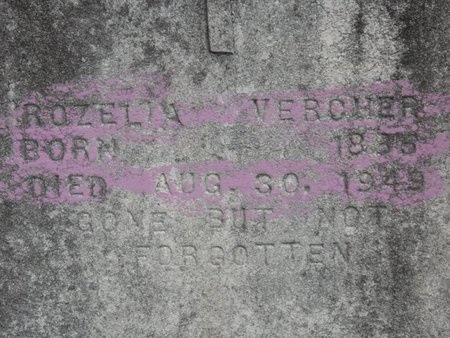 COUTEE VERCHER, ROZELLA - Natchitoches County, Louisiana | ROZELLA COUTEE VERCHER - Louisiana Gravestone Photos