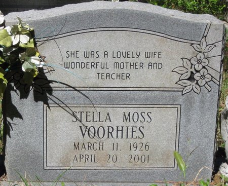 VOORHIES, STELLA - Natchitoches County, Louisiana | STELLA VOORHIES - Louisiana Gravestone Photos
